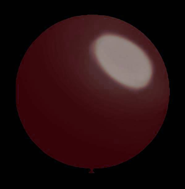25 stuks - Decoratieballonnen burgundy metallic 28 cm professionele kwaliteit