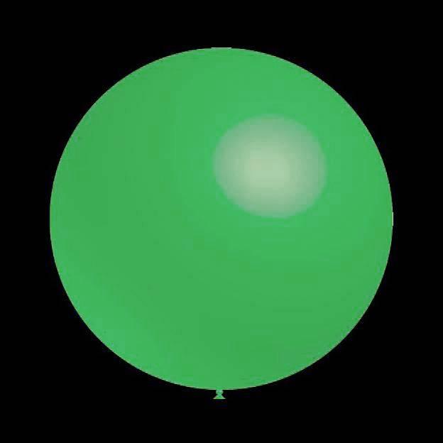 5 stuks led verlichte Decoratieballonnen mint groen 30 cm met losse LED-lampjes