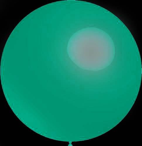 Mega grote turquoise ballonnen 90 cm