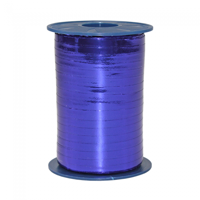 Ribbon 250m x 5mm Metallic - bleu