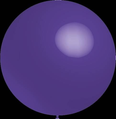 Mega grote paarse ballonnen 90 cm