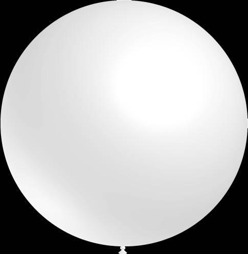Mega grote witte ballonnen 90 cm