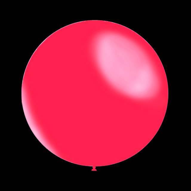 25 stuks - Metallic decoratieballonnen fuchsia 28 cm professionele kwaliteit