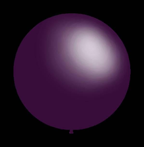 25 stuks - Decoratieve ballonnen - 30 cm - paars professionele kwaliteit