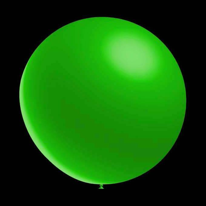 50 stuks - Decoratieve ballonnen - 30 cm - metallic groen professionele kwaliteit