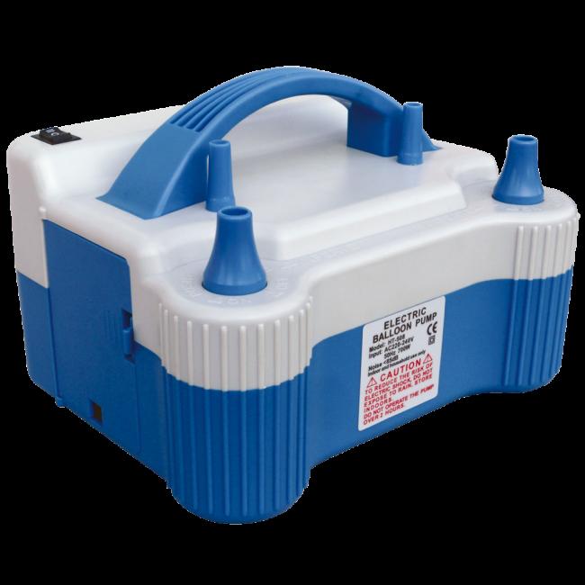 Electrische Ballonnenpomp 680watt - 2,4PSI - 570L/min blauw met wit
