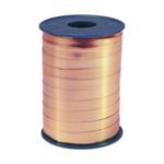 Ribbon 250m x 5mm Rose gold metallic