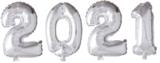 2021 41 cm zilver