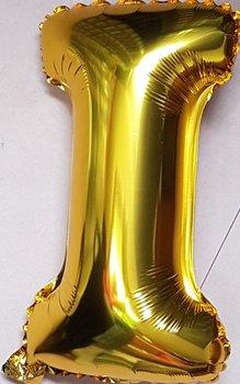 ballon - 40 cm - goud - letter - I
