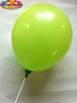 25 stuks Licht groene parelmoer metallic ballon 30 cm hoge kwaliteit