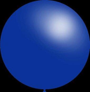 Mega grote ronde festivalballonnen blauw 130 cm professionele kwaliteit