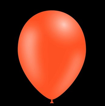 Feestballonnen oranje 28 cm pastel professionele kwaliteit 25 stuks voordeelpak