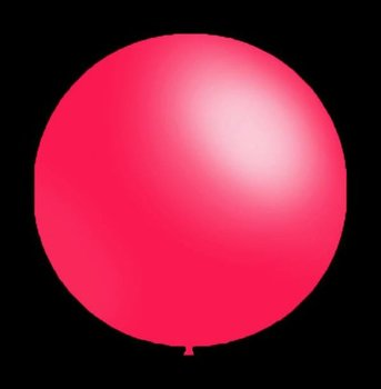 Decoratieballonnen fuchsia 26 cm professionele kwaliteit