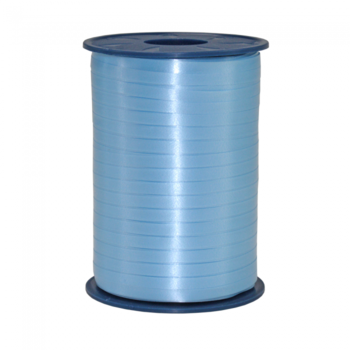 Ribbon spool 500 m x 5 mm light bue