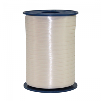 Ribbon spool 500 m x 5 mm ivory