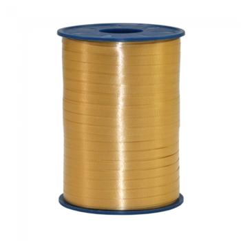 Ribbon spool 500 m x 5 mm gold