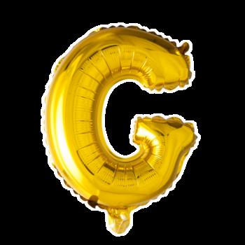 ballon - 41 cm - goud - letter - G