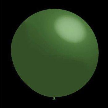 Decoratieballonnen donker groen 28 cm professionele kwaliteit