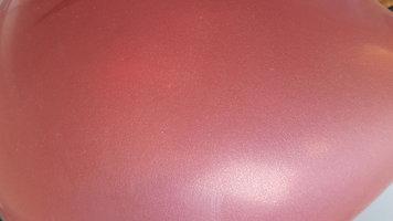 Roest bruine parelmoer metallic ballon 30 cm hoge kwaliteit MET LOS LEDLAMPJE VOOR IN BALLON