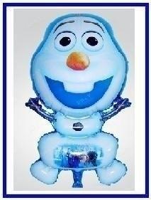 Grote ballon Olaf sneeuwpop uit frozen 72 cm