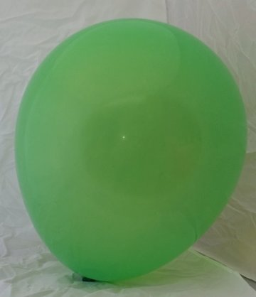 Grote groene ballonnen 65 cm