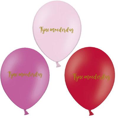 5 stuks latex ballonnen met tekst