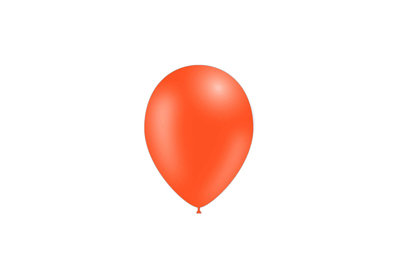 10 stuks - Feestballonnen oranje 26 cm pastel professionele kwaliteit
