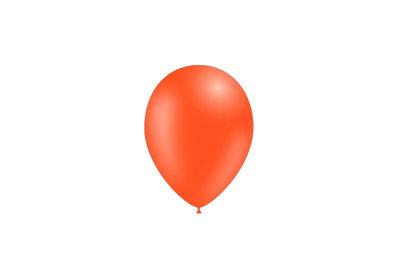 50 stuks - Feestballonnen oranje 26 cm pastel professionele kwaliteit
