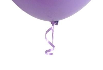 10 stuks snelsluiters met lila lint