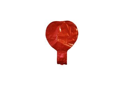 10 stuks zelf sluitende folie hartballonnetjes 10 cm rode