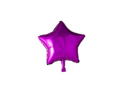 Grote ballon doorsnee 46 cm ster hot pink