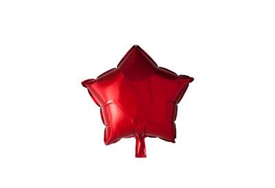 Grote ballon doorsnee 46 cm ster rood