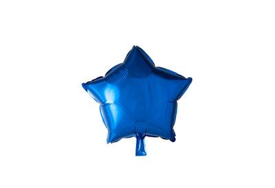 Grote ballon doorsnee 46 cm ster donker blauw
