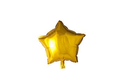 Grote ballon doorsnee 46 cm ster goud