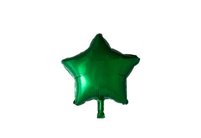 Grote ballon doorsnee 46 cm ster groen