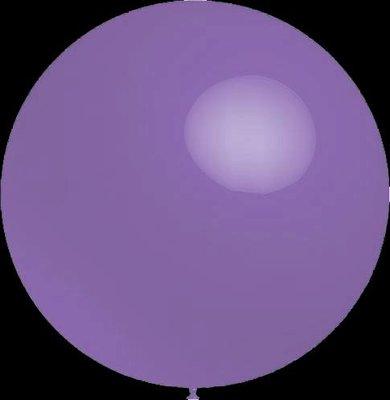 3 stuks Mega grote lavendel ballonnen 90 cm