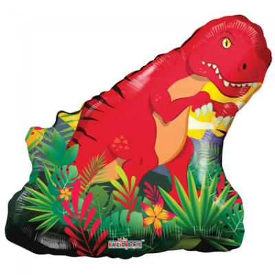 Folie ballon xl dinosaurus 71 cm groot