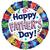 Folie ballon Happy Father's Day 46 cm doorsnee