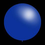10 stuks - Decoratieve ballonnen - 30 cm - blauw metallic professionele kwaliteit