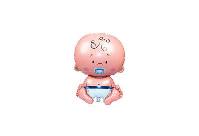 Grote xl blauw baby jongen ballon geboorte cm ballonnenparade