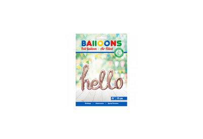 Grote ballon doorsnee 119 cm hello