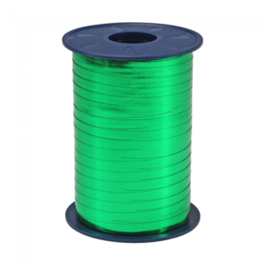 Ribbon 250m x 5mm Metallic - green