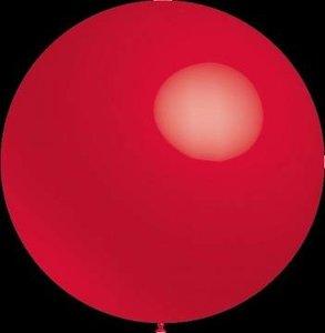 3 stuks Mega grote rode ballonnen 90 cm