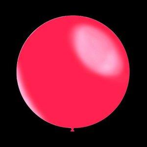 Metallic decoratieballonnen fuchsia 28 cm professionele kwaliteit