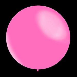 Decoratieve ballonnen - 30 cm - metallic baby pink professionele kwaliteit