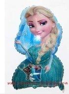 Ballonnenparade Grote ballon Elza blonde meisje uit frozen 58 cm