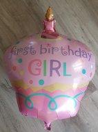 Betaalbaar 118% Korting Grote roze first birthday girl ballon babyshower voor eerste verjaardag