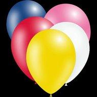 €2500000 Aanbieding Ballonnenparade Feestballonnen Ronde metallic decoratieballonnen mix 28 cm