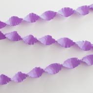 Crepe Garland 6m - lilac