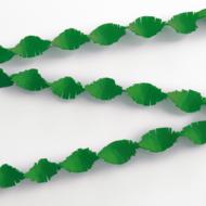 Crepe Garland 6m - xmas green